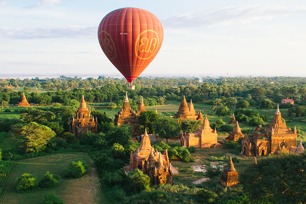 Yangon & Bagan with Balloon Over Bagan