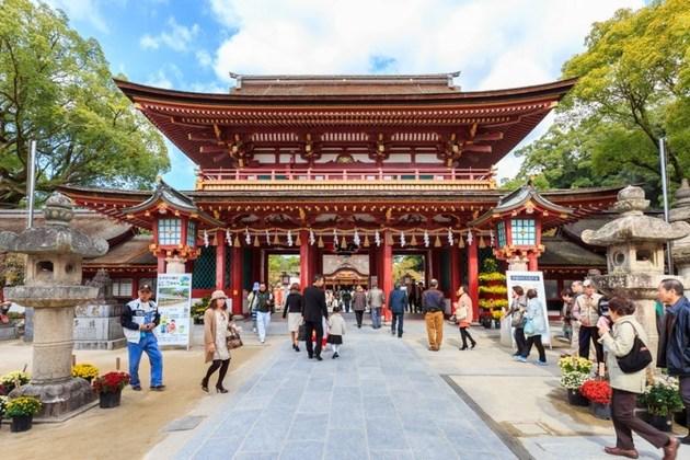 Tenmangu Shrines in Fukuoka
