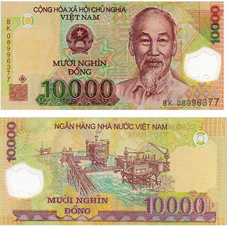 10 000 Vietnam Dong