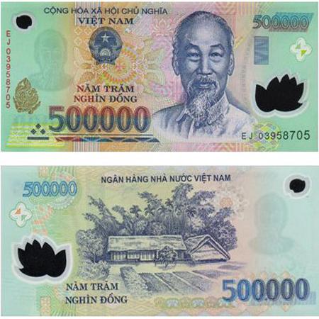500000 Vietnam Dong