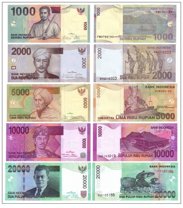 Indonesia Cur Banknotes