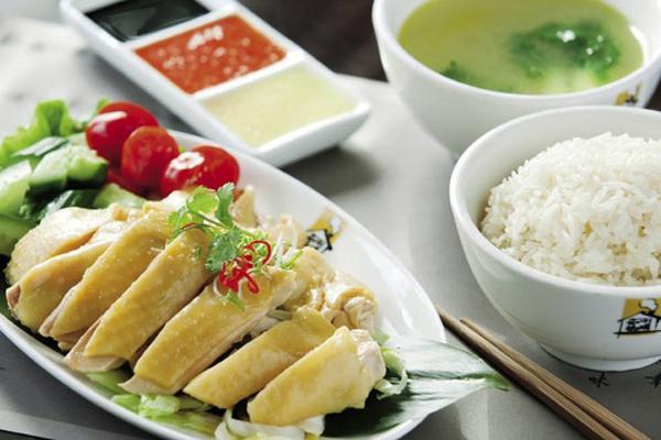 Hainanese Chicken Rice singapore