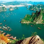 Halong-Bay-panoramic-view-with-Hai-Au-Seaplane