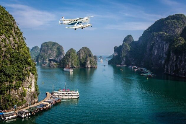 Amazing Halong Bay with Hai Au Aviator & 4-hour Cruise