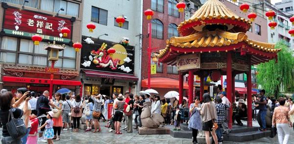 Chinatown in Kobe, Japan