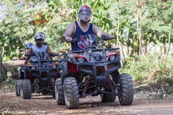 Buggy ride adventure in Boracay