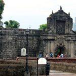 The ruin of Fort Santiago, Manila