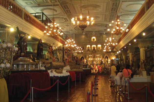 Inside from Villa Escudero Museum