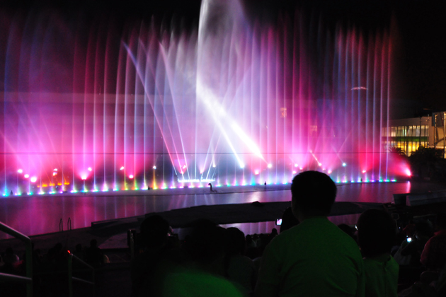 Musical Fountain Show in Manila Ocean Park