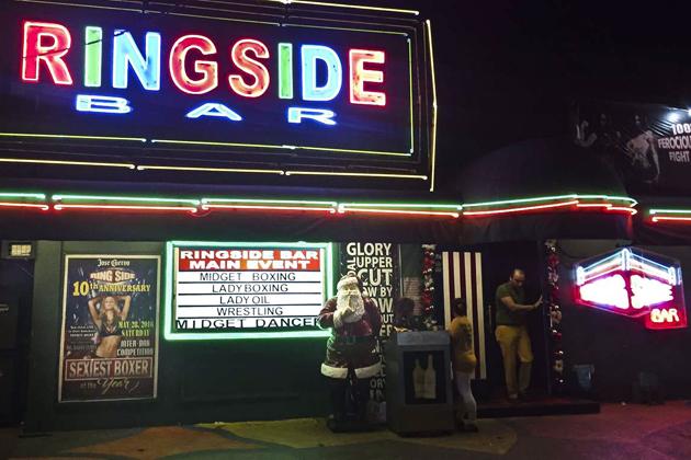 Ringside Bar in Manila