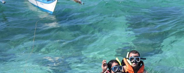 Snorkeling near Crocodile Island