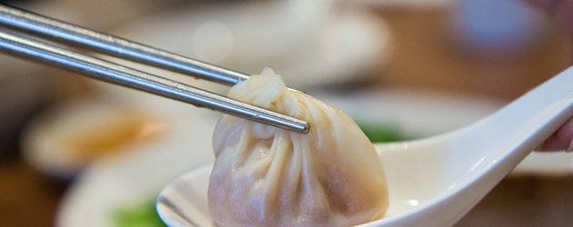 Soup Dumpling in Din Tai Fung, Taipei