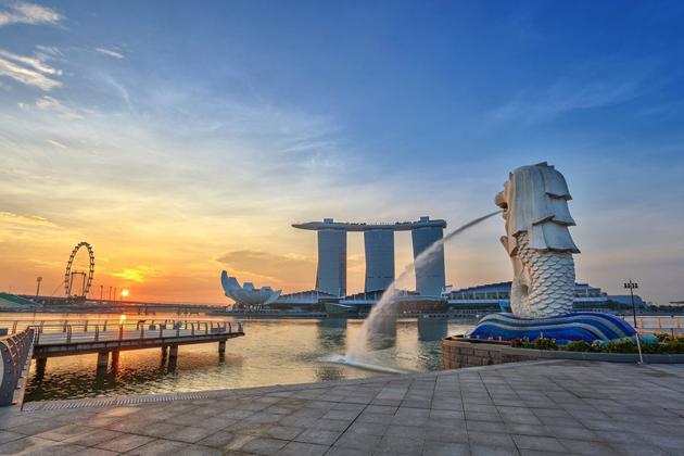 Iconic Merlion of Singapore