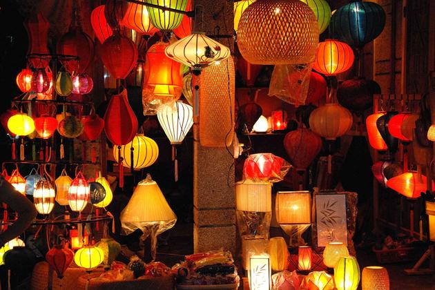 Lanterns in Hoi An Ancient Town