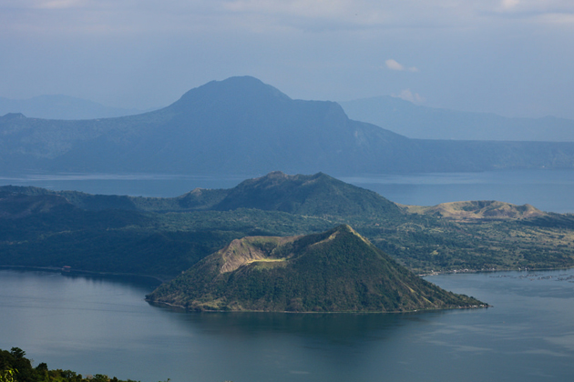 Panorama of Taal Volcano