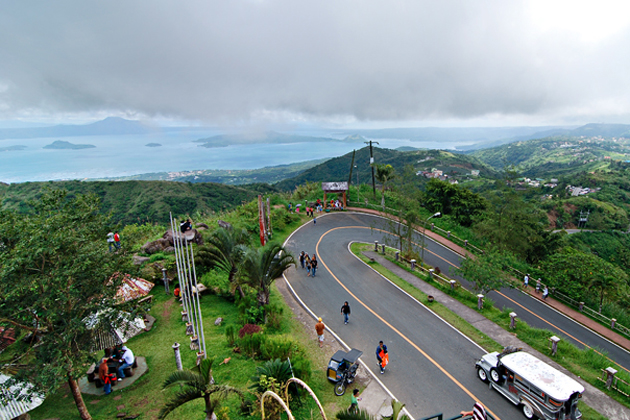 The View from Tagaytay People Park