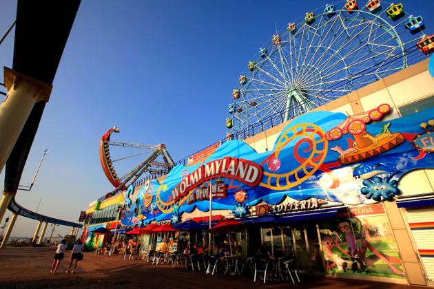 Wolmido Island theme park