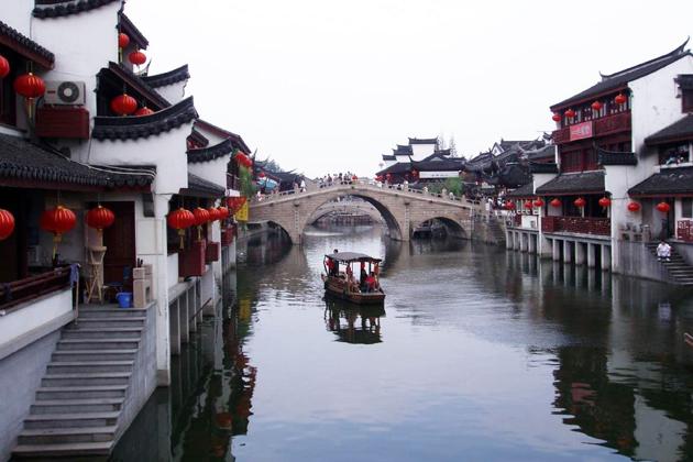 Zhujiajiao Water Villag, Shanghai, China