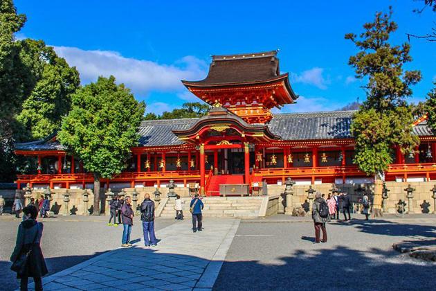 Iwashimizu Hachiman-gu Shrine
