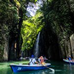 Boat trip in Takachiho Gorge
