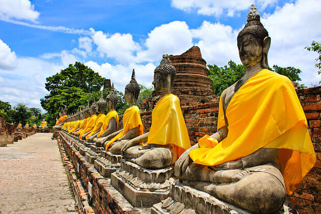 The Ancient Town Ayutthaya