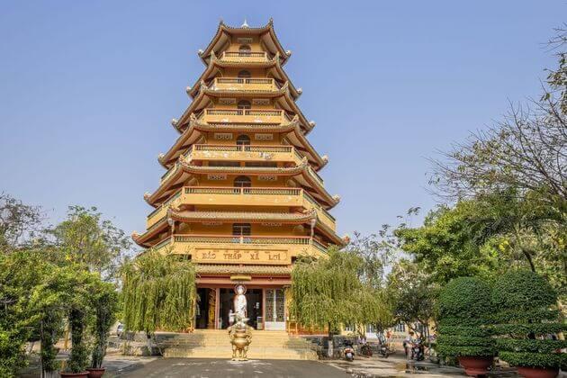 Giac Lam Pagoda in Ho Chi Minh city