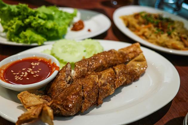 Penang spice deep-fried pork roll