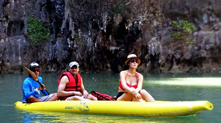 Phuket Sea Cave Canoe Adventure