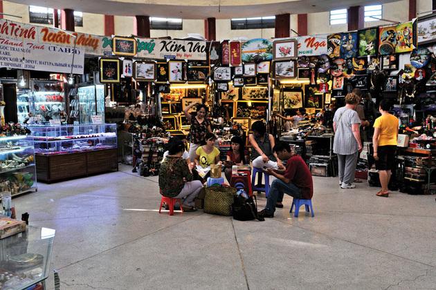 nha trang dam market