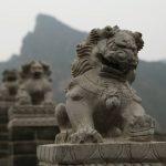 Huangya Pass Lions