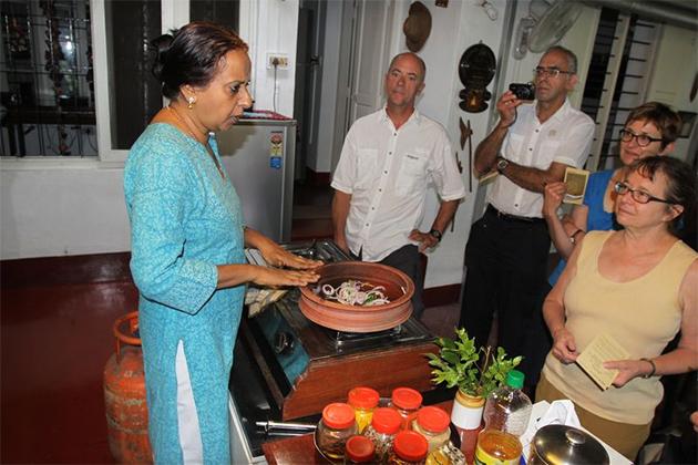 Kerala Cuisine Cooking Demo