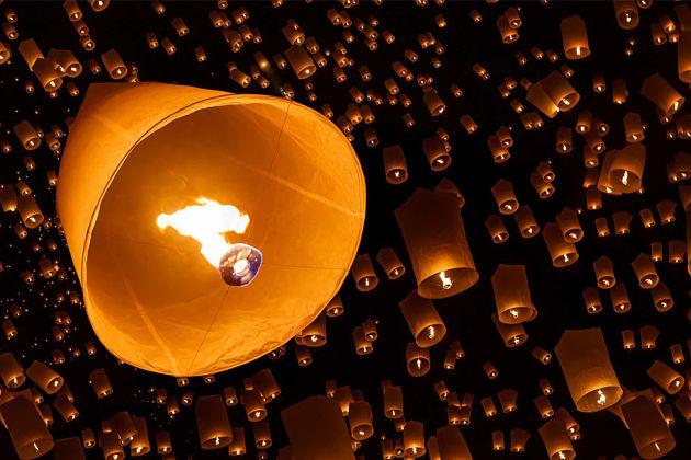 Pingxi Lantern Festival in Taipei