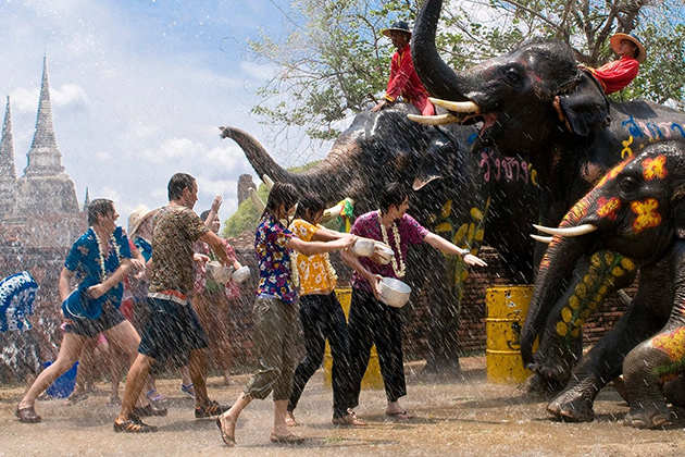 Songkran - Traditional New Year festival