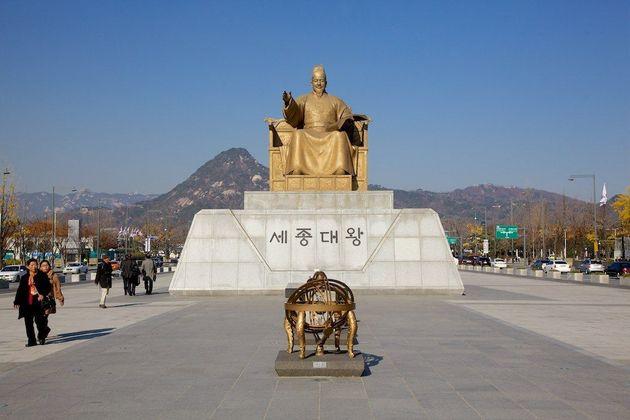 Gwanghwamun Square - Seoul shore excursions