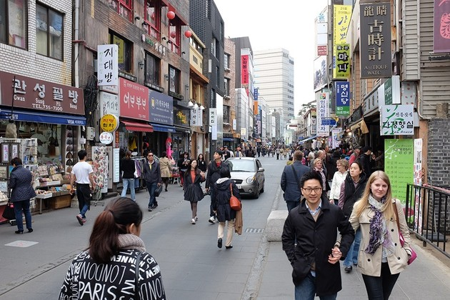 Insadong Street - Seoul shore excursions