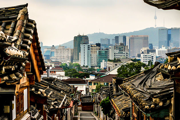Buchon Hanok Village in Seoul