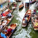 Damnoen Saduak Floating Market Bangkok shore excursions