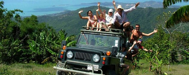 4WD Car to Thai Eco Safari Life
