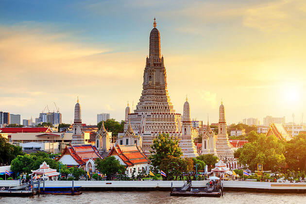 Wat Arun - Bangkok 2 days tour