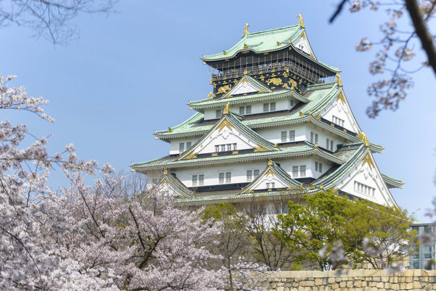 Osaka Attractions for shore excursions - Osaka Castle