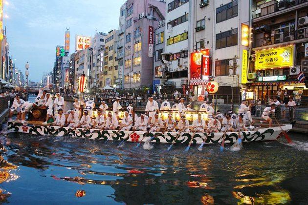Osaka Tenjin-matsuri Festival