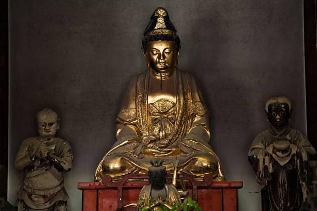 Sofukuji Temple Buddha statue