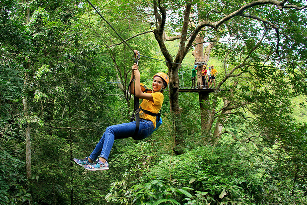 Flight of the Gibbon Zipline Bangkok