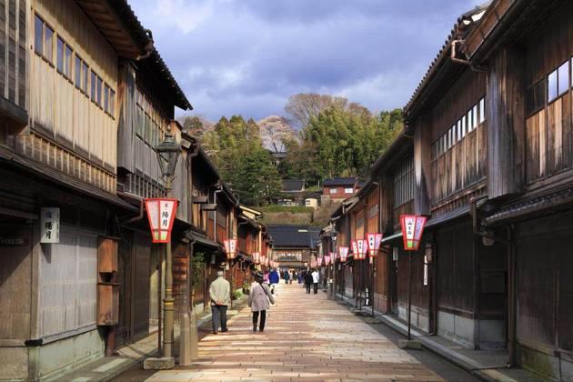 Higashi Chayamachi Area in Kanazawa
