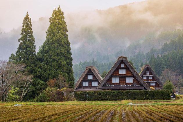 Historic Villages of Gokayama from Toyama and Kanazawa shore excursions
