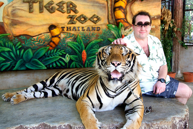Khao Kheow Open Safari Park in Bangkok shore excursions