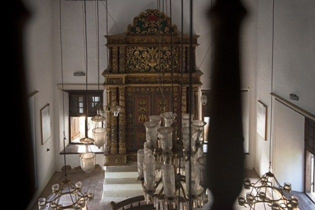 Paravur Synagogue inside