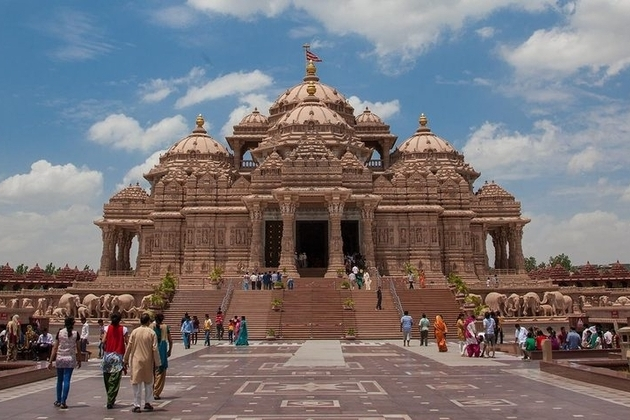 Akshardham complex in India