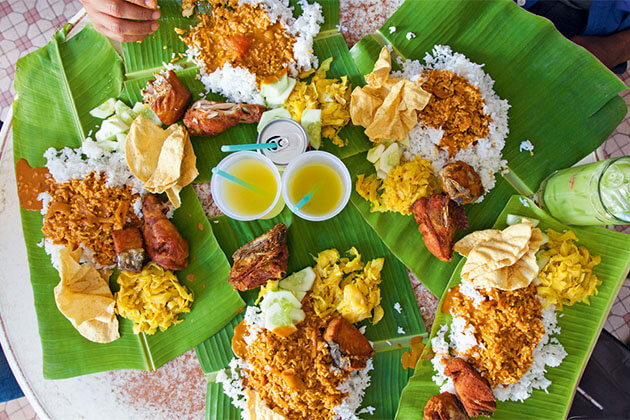 Banana Leaf Café Penang Shore Excursion