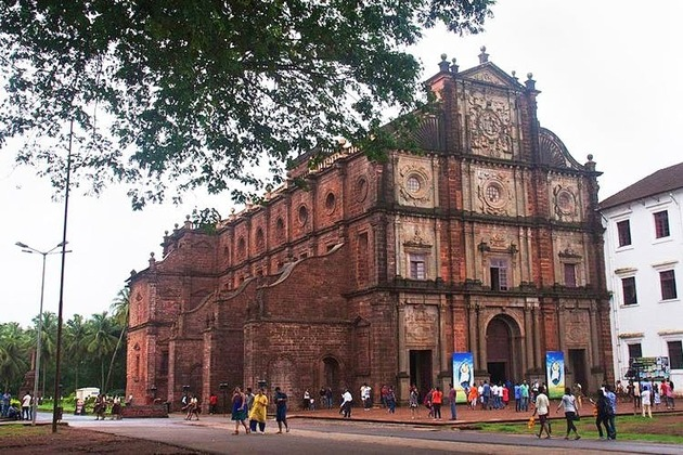 Basilica of Bom Jesus in Goa